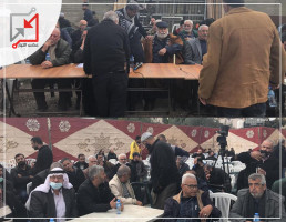 عطوة عشائرية في بلدة كفر عقب على خلفية مقتل الشاب إيهاب الرجبي
