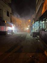 الأجهزة الامنية تطلق النار وقنابل الغاز على المواطنين في مخيم بلاطة