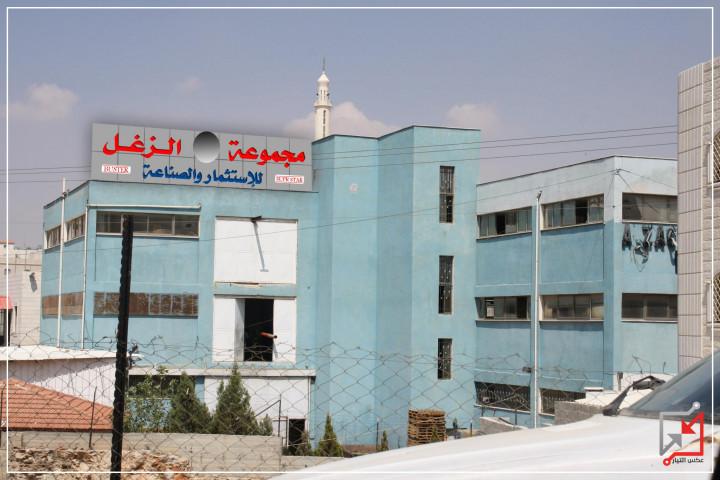 اطلاق نار على مصنع بواد الهرية في الخليل