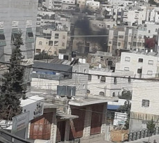 شجار عائلي واطلاق نار في المنطقة الجنبوية لمدينة الخليل، طلعة واد القاضي