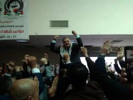 كيف تم انتخاب  شاهر سعد أميناً عاماً للاتحاد العام لنقابات عمال فلسطين