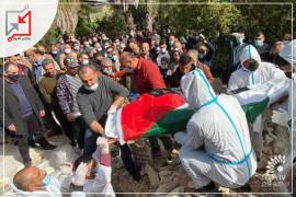 كون الرجل لم يمت في مستشفى اسرائيلي فالسلطة لم تحضر جنازته