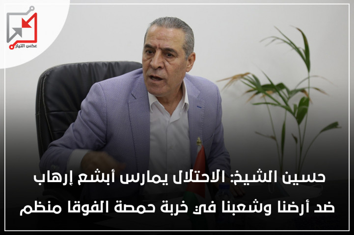 هدم خربة حمصة نتيجة لعودتك السريعة الى التنسيق الأمني  قبل أن يتراجع الاحتلال عن مخططاته