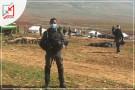 الاحتلال اليوم وللمرة الثانية يهدم خربة حمصة فوق رؤس ساكنيها وطردهم منها
