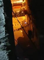 صورة من اقتحام الأجهزة الأمنية لمخيم بلاطة ليلة امس