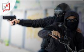 مسلحون أطلقوا النار على منزل المواطن/ رائف نواف في نابلس