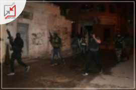 اطلاق نار كثيف في مخيم بلاطة على اثر اندلاع اشتباك بين مسلحين