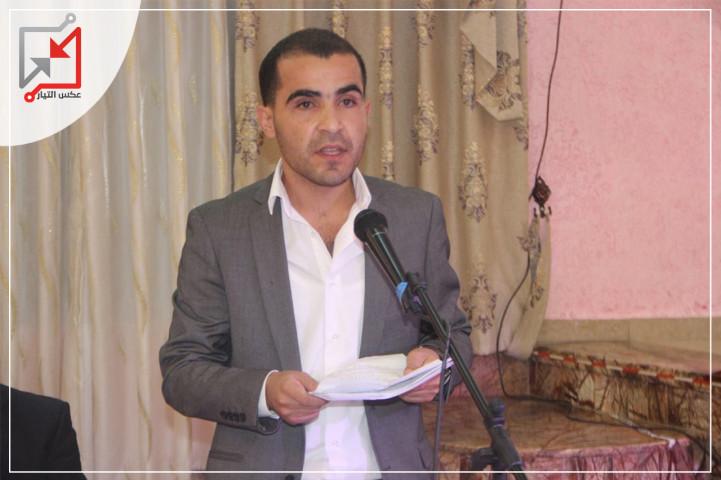 مجهولون يهاجمون منزل امين سر حركة فتح في بلدة قصرة عثمان فريج، بالأكواع المتفجرة .