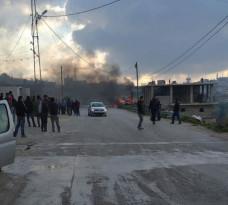 إندلاع شجار عائلي في منطقة الصرة