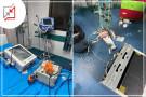 تحطيم محتويات بعض الاقسام في احدى مستشفيات رام الله على اثر وفاة الشابة خلود شماسنة نتيجة خلل طبي.