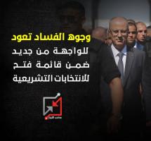 وجوه الفساد تعود للواجهة من جديد ضمن قائمة فتح للانتخابات التشريعية