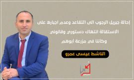 جبريل الرجوب يخالف قرار الاستقالة من الوظيفة ويحصل على قرار بالتقاعد من اجل الترشح