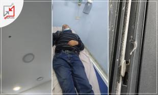 مجهولون مسلحون يطلقون النار على مكتب مقاولات يعود للمواطن جهاد حامد النمورة