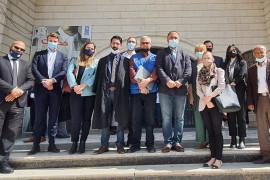 بعد ٤ سنوات من المحاكمة والاعتقال التعسفي ..  محكمة صلح الخليل تقررببراءة الناشط عيسى عمرو