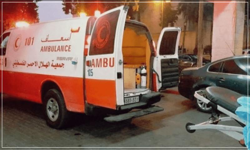 اصابة المواطن فؤاد عمري برصاص مجهولين في قباطية.