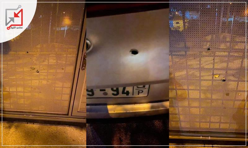 مجهولون يطلقون النار على منزل ومركبة المرشح على قائمة المستقبل للمجلس التشريعي المحامي حاتم شاهين