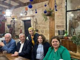 سهرة سعيدة لاعضاء اللجنة المركزية بمناسبة انتصارهم على إرادة الشعب الفسطيني و إلغاء الانتخابات