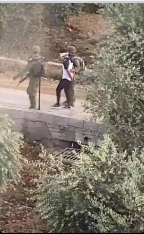 أجهزة أمن السلطة بالأمس اقتحمت منزل المواطن منتصر شلبي وحققت مع عائلته