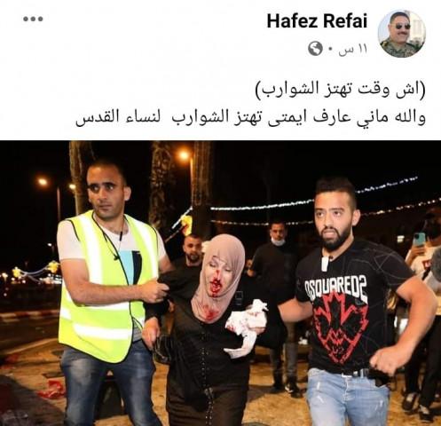 قيادات الاجهزة الأمنية في السلطة تسأل ( اش وقت تهتز الشوارب) !!