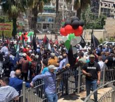 أنباء عن اطلاق رشقة بالونية من رام الله بإتجاه الاحتلال في ذكرى النكبة