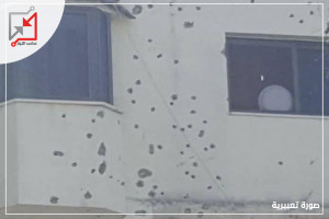 مسلحون مجهولون أطلقوا النار على منزل ومركبة المواطن مجدي عمران