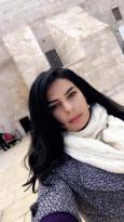الصحفية اريكا زيدان بعد تعرضها للتهديد من بلطجية السلطة