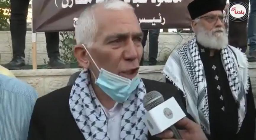 معلقا على اطلاق النار محافظ بيت لحمىهذا تعبير عن الغضب
