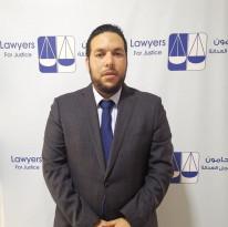 اعتقال المحامي مهند كراجة و3 نشطاء أمام محكمة رام الله