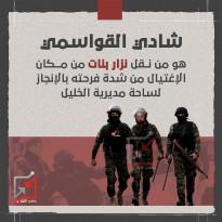 شادي القواسمي هو من نقل نزار بنات من مكان الاغتيال من شدة فرحت بالانجاز لساحة مديرية الخليل