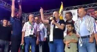 القيادي السحيج بفتح مراد اشتيوي يصف المتظاهرين الذين خرجوا للمطالبة بمحاسبة قتلة #نزار_بنات بالخونة والمرتدين.