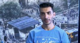 الصحفي عقيل عووادة .. حديث لصالح وكالة AP لما حدث في الخامس من تموز الجاري أمام مقر شرطة البالوع