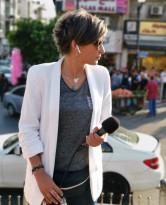 الشرطة الفلسطينية تعتمد على صورة مفبركة بطريقة غبية من أجل إصدار بيان صحفي للتشهير بالزميلة الصحفية فاتن علوان