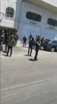 انتشار للمسلحين مع قرب خروج جنازة المغدور من عائلة الجعبري في الخليل