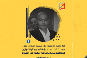 كتب المهندس فايز سويطي .. حول موافقة الاحتلال على لم شمل خمسة الاف عائلة