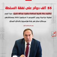 عبدالله كميل رحلة علاجية في هرتسليا ب55 ألف دولار على نفقة السلطة