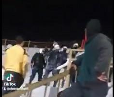الاجهزة الأمنية تعتدي على اللاعب في المنتخب الوطني خيري عابدين