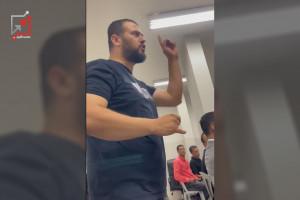 مواطن يواجه محمد اشتية خلال زيارته لجنين، بكلام في الصميم. ( فيديو)